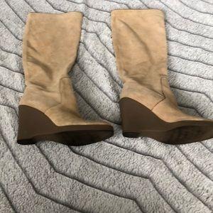 Women's Calvin Klein Over The Calf Boots